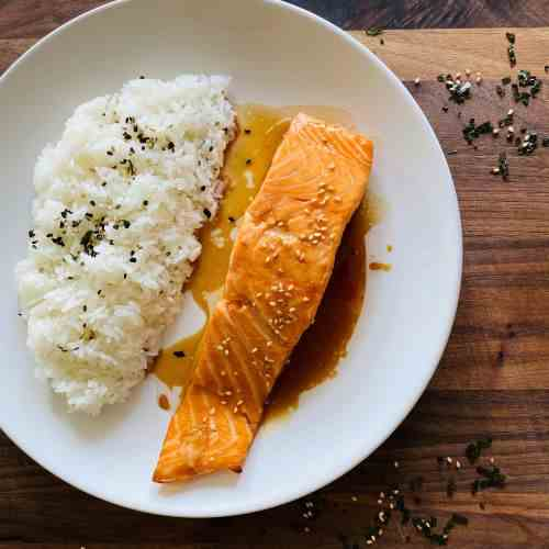 Baked Salmon Teriyaki Recipe