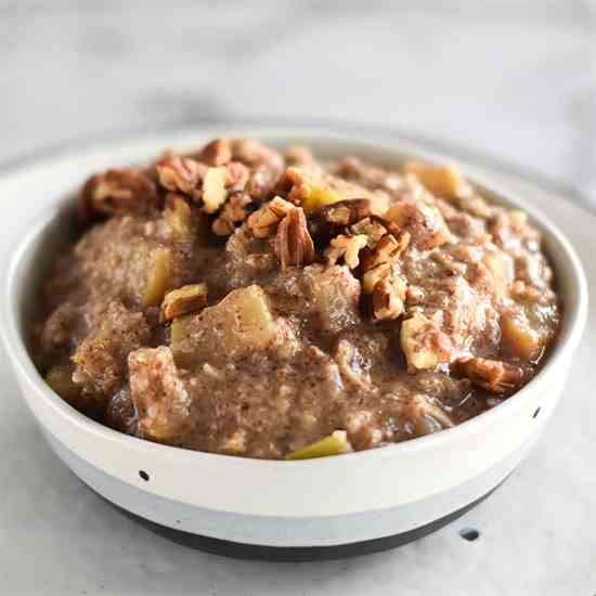 Apple Pie Paleo Hot Cereal