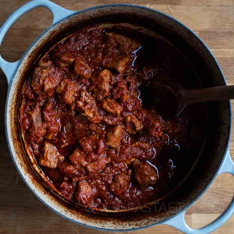 Slow-Cooked Pork Shoulder Ragu