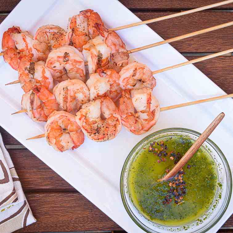 How to Grill Jumbo Shrimp