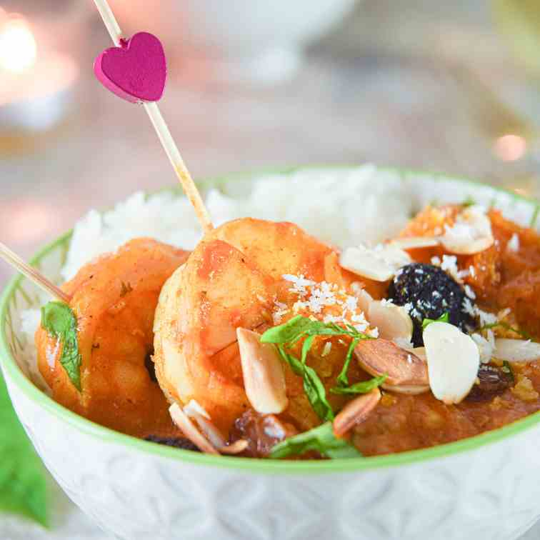 Electric Skillet Shrimp Curry