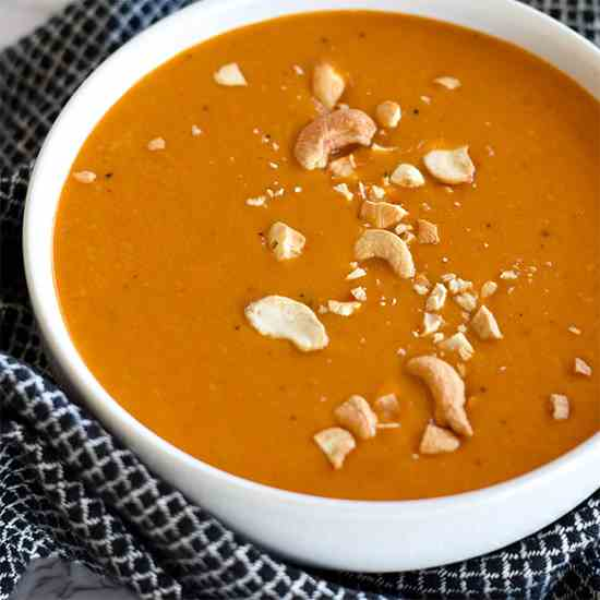 Paleo Curry Butternut Squash Soup